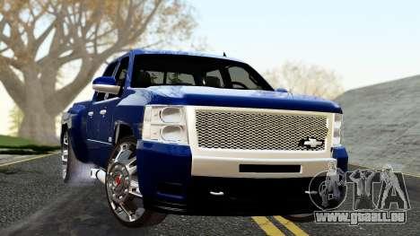 Chevrolet Cheyenne 2012 Dually für GTA San Andreas