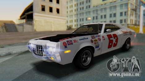 Ford Gran Torino Sport SportsRoof (63R) 1972 IVF pour GTA San Andreas salon