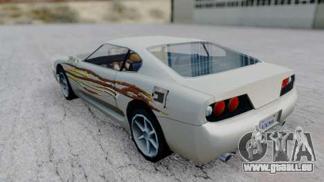 Jester F&F4 RX-7 PJ für GTA San Andreas linke Ansicht