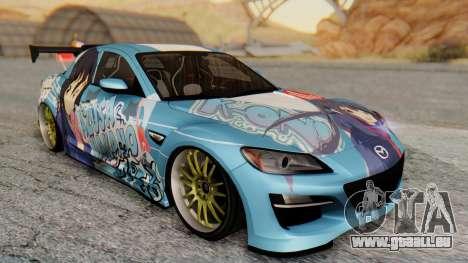 Mazda RX-8 Itasha für GTA San Andreas