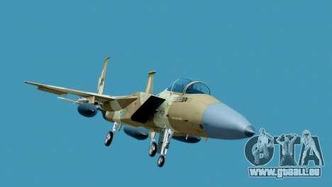 McDonnell Douglas F-15E Aggressor Desert pour GTA San Andreas