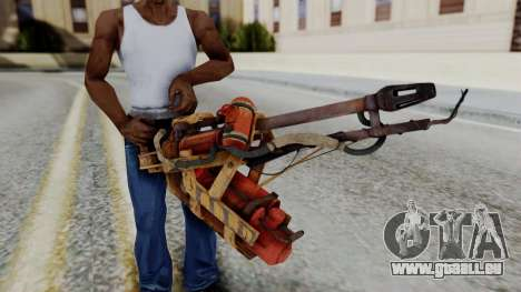 Fallout 4 - Flamethrower für GTA San Andreas dritten Screenshot
