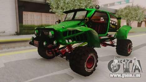 Mudmonster pour GTA San Andreas