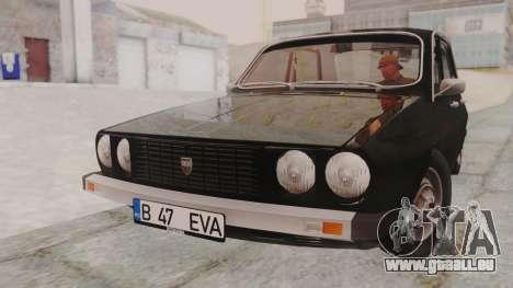 Dacia 1310 1979 pour GTA San Andreas sur la vue arrière gauche