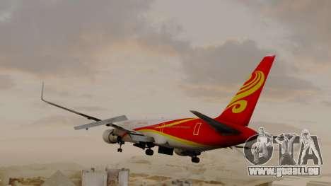 Boeing 767-300ER Hainan Airlines pour GTA San Andreas laissé vue