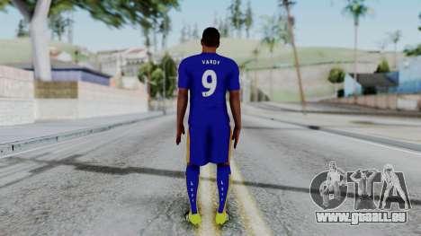 Jamie Vardy - Leicester City 2015-16 pour GTA San Andreas troisième écran