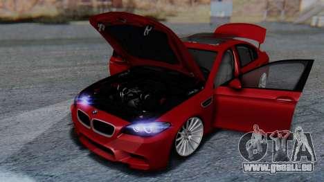 BMW M5 2012 Stance Edition für GTA San Andreas Räder