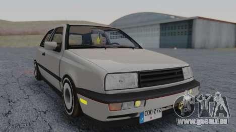 Volkswagen Golf Mk3 pour GTA San Andreas sur la vue arrière gauche