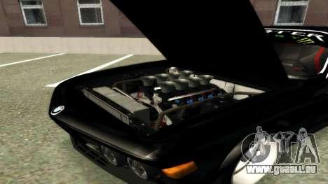 BMW 3.0 CSL JDM Style pour GTA San Andreas laissé vue