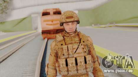 US Army Multicam Soldier from Alpha Protocol für GTA San Andreas