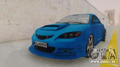 Mazda 3 Full Tuning für GTA San Andreas rechten Ansicht