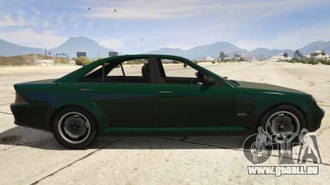 GTA 5 GTA 4 Schafter vue latérale gauche
