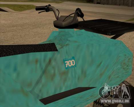 QuadNew v1.0 für GTA San Andreas zurück linke Ansicht