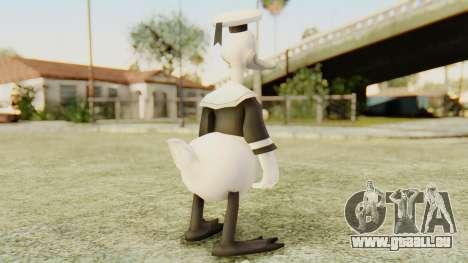 Kingdom Hearts 2 Donald Duck Timeless River v1 für GTA San Andreas dritten Screenshot