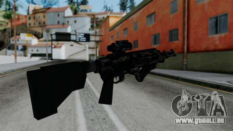 CoD Black Ops 2 - Storm PSR für GTA San Andreas zweiten Screenshot