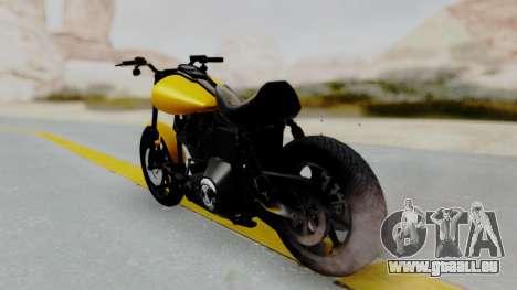 Harley-Davidson Dyna Super Glide T-Sport 1999 für GTA San Andreas linke Ansicht