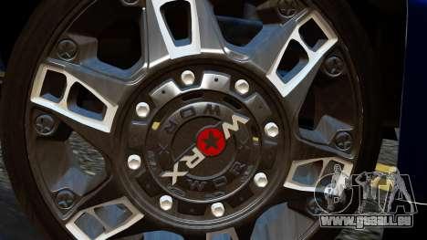 Chevrolet Cheyenne 2012 Dually für GTA San Andreas zurück linke Ansicht