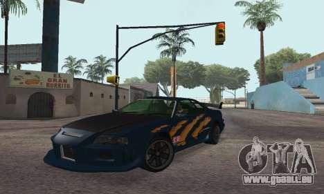 Nissan Skyline R34 Sunray (FlatOut 2) für GTA San Andreas