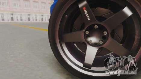 Nissan Skyline GT-R 2005 Z-Tune pour GTA San Andreas sur la vue arrière gauche