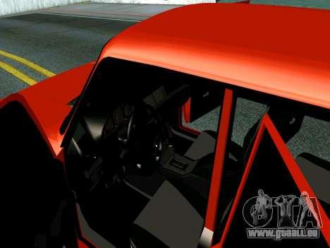 VAZ 2107 Rang Rover Edition für GTA San Andreas Innenansicht