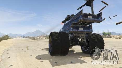 GTA 5 Mad Max The Gigahorse hinten rechts