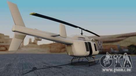 GTA 5 Buckingham Maverick pour GTA San Andreas laissé vue