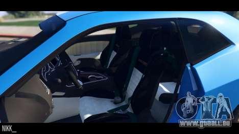 GTA 5 Dodge Challenger 2015 hinten rechts
