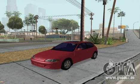 Honda Civic EG6 Tunable pour GTA San Andreas