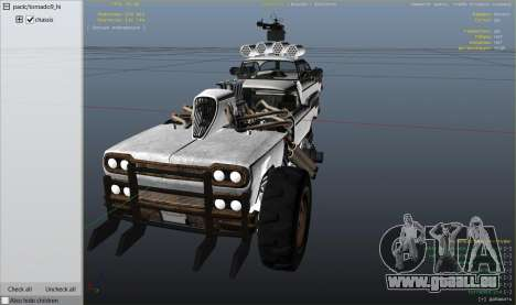 GTA 5 Roue Mad Max The Gigahorse