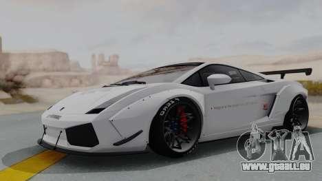 Lamborghini Gallardo 2005 LW LB Performance für GTA San Andreas