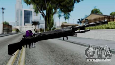 Purple Rifle für GTA San Andreas
