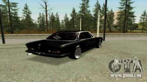 BMW 3.0 CSL JDM Style pour GTA San Andreas vue de droite