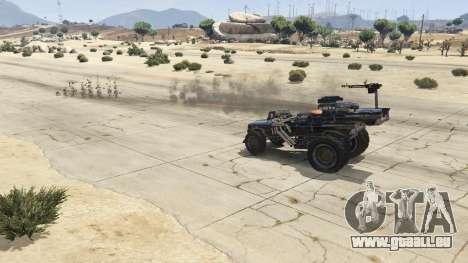GTA 5 Mad Max The Gigahorse rechte Seitenansicht