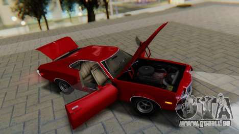 Ford Gran Torino Sport SportsRoof (63R) 1972 PJ1 für GTA San Andreas Rückansicht