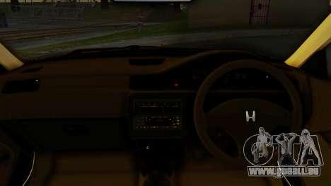 Honda Civic Vti 1994 V1.0 IVF für GTA San Andreas zurück linke Ansicht