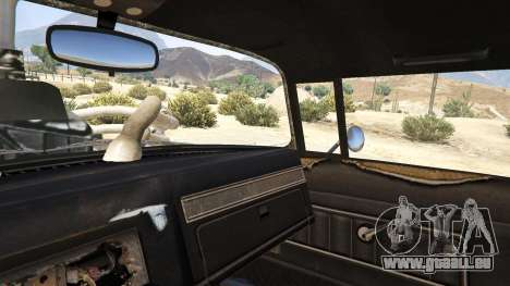 GTA 5 Mad Max The Gigahorse volant