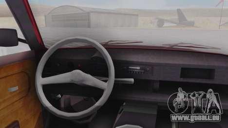 Trabant 601 pour GTA San Andreas vue de droite