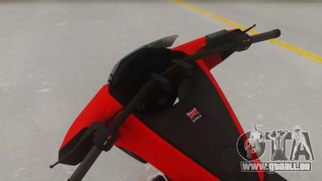 GTA 5 Dinka Vindicator IVF pour GTA San Andreas vue de droite