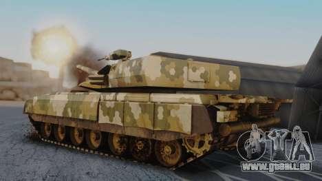 T-100 Varsuk pour GTA San Andreas laissé vue