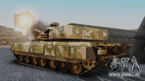 T-100 Varsuk für GTA San Andreas linke Ansicht