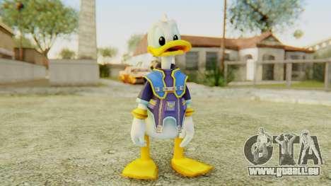 Kingdom Hearts 2 Donald Duck Default v2 pour GTA San Andreas deuxième écran