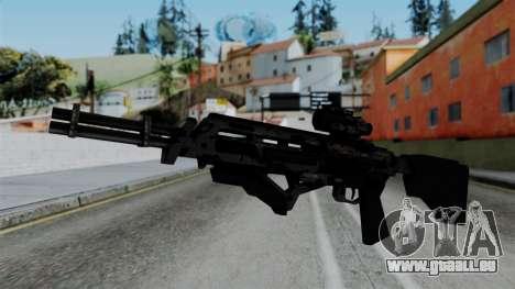 CoD Black Ops 2 - Storm PSR für GTA San Andreas