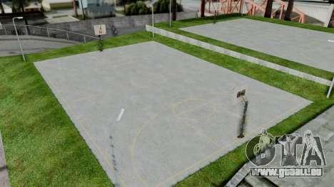 New Basketball Court für GTA San Andreas dritten Screenshot