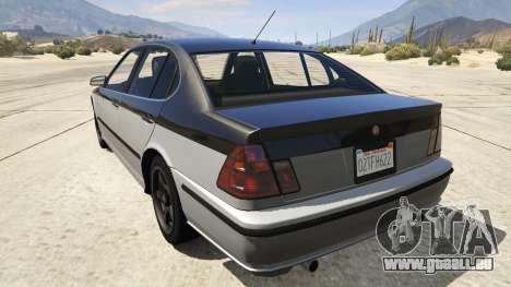 GTA 5 GTA 4 Lokus arrière vue latérale gauche
