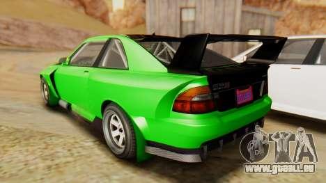 GTA 5 Karin Sultan RS IVF pour GTA San Andreas laissé vue
