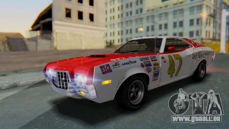 Ford Gran Torino Sport SportsRoof (63R) 1972 IVF pour GTA San Andreas roue