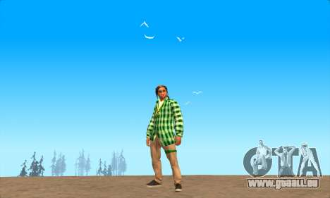 La peau Pak le Bosquet de ne Jamais pour GTA San Andreas troisième écran