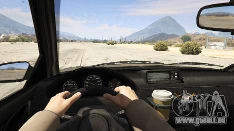 GTA 5 GTA 4 Schafter vue arrière