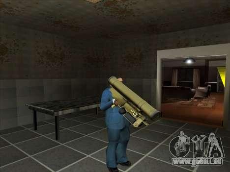 Eine Reihe von Russischen Waffen für GTA San Andreas
