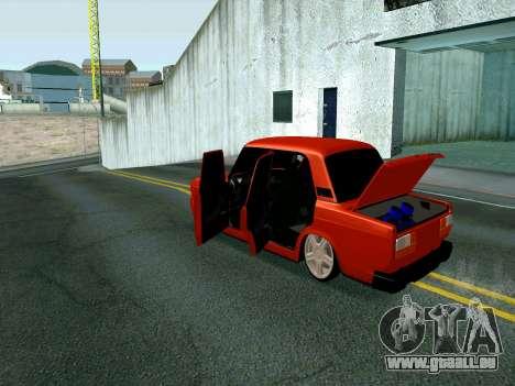 VAZ 2107 Rang Rover Edition für GTA San Andreas rechten Ansicht